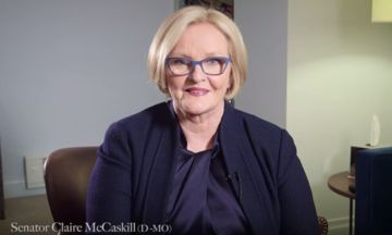 Senator Claire McCaskill Kindly Encourages Men To 'Shut The Hell Up'