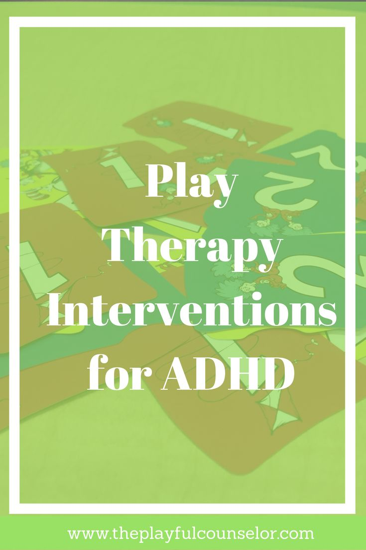 Play Therapy Interventions ADHD Activities Child Counseling Games