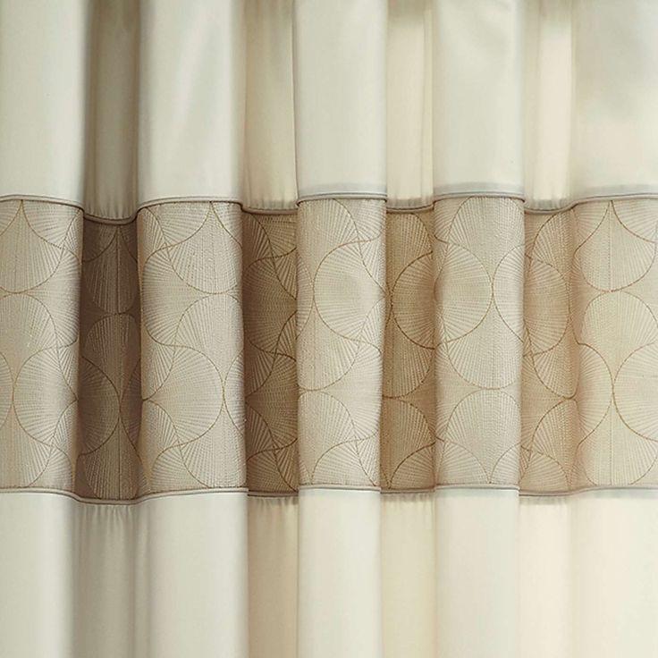 Venetia Natural Thermal Eyelet Curtains | Dunelm
