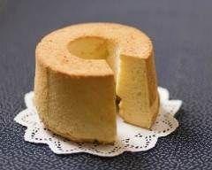 Gâteau mousseline (chiffon cake)