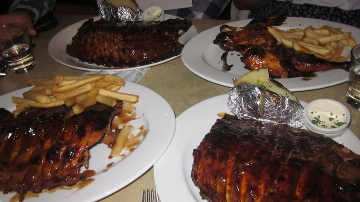 The best ribs i've ever tried! Hurricanes Grill. Sydney, Australia