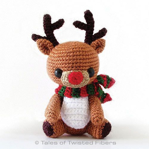 Download Rudy The Reindeer Amigurumi Pattern (FREE)