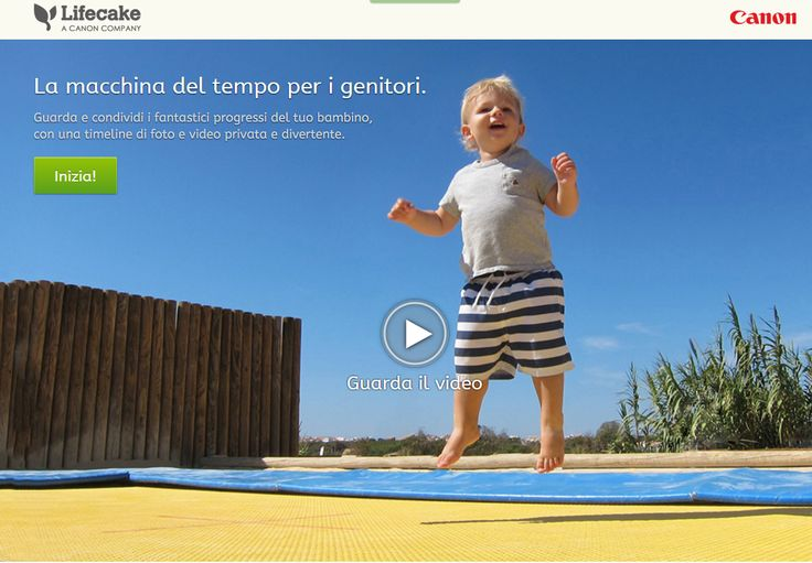 #Canon #Lifecake, l'app per custodire foto e video