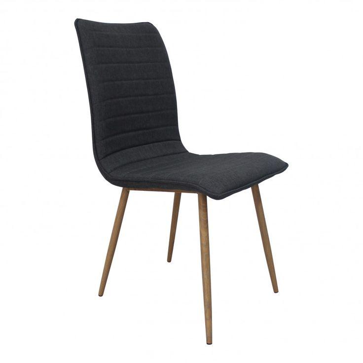 Melanie stol - ljus eller mörkgrå :: Matbord och stolar, Matbord och stolar > Matstolar och Stolar, REA, Nyhet > nyhet_3
