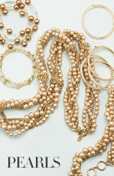 honey-colored pearls