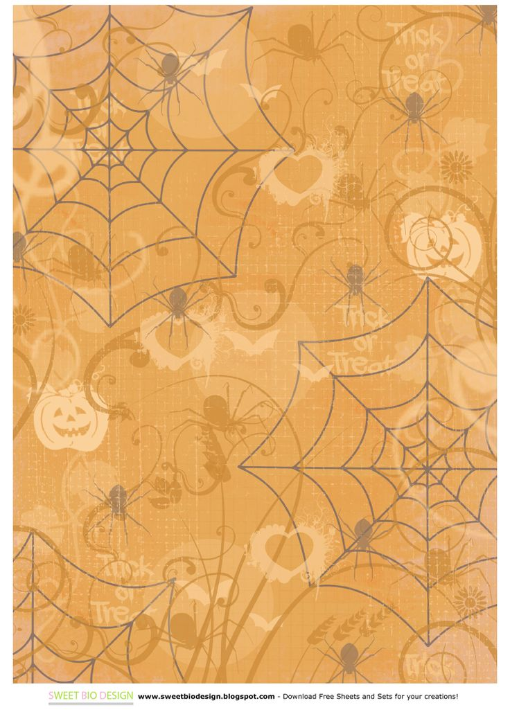 SBDSet di carte per halloween 'Scary Night' - 'Scary Night' halloween paper setby SweetBioDesign