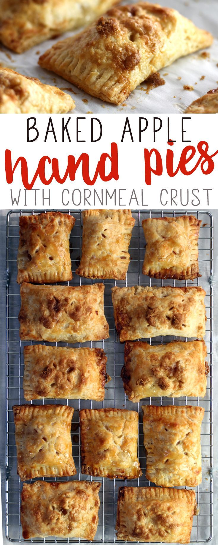 #AD Fall is here, ya'll. You know what that means, right? Fall baking. The cinnamon and apples, the smells and spices floating through my kitchen...these are the things that make me happy. https://buythiscookthat.com/baked-apple-hand-pies/ The season inspired us to make these delicious Baked Apple Hand Pies with Luck's Fruits. #fallbaking #applerecipe