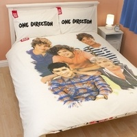 One Direction: One Direction Crush Double Panel Duvet Set