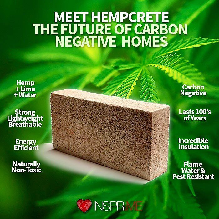 The New #Green #Building #Trend is Bricks of #Cannabis. Literally…