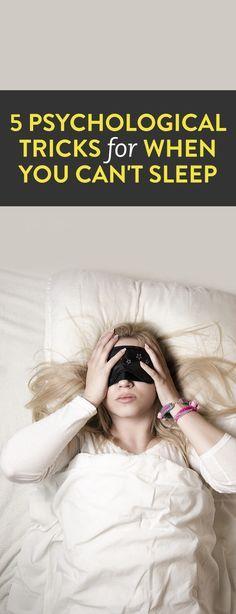 5 Psychological Tricks For When You Can't Sleep  .ambassador
