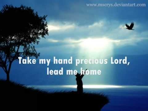 Take My Hand, Precious Lord - Jim Reeves - YouTube