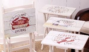 Crab & Lobster Decor Furniture   #JoesCrabShack