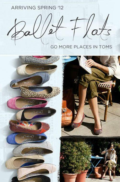 TOMS ballet flats!: Shoes Glasses, Flirtear Flats, Christmas Sales, Toms Shoes 19, Fashion Nonsense, Toms Ballet Flats, Toms Flats, Curvaci Fashionista, Favorite Toms