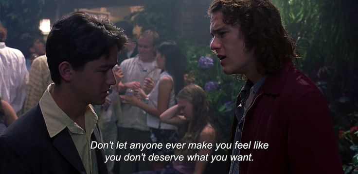 10 Things I Hate About You Quotes: 10 Things I Hate About You (1999) Don't Let Anyone Ever
