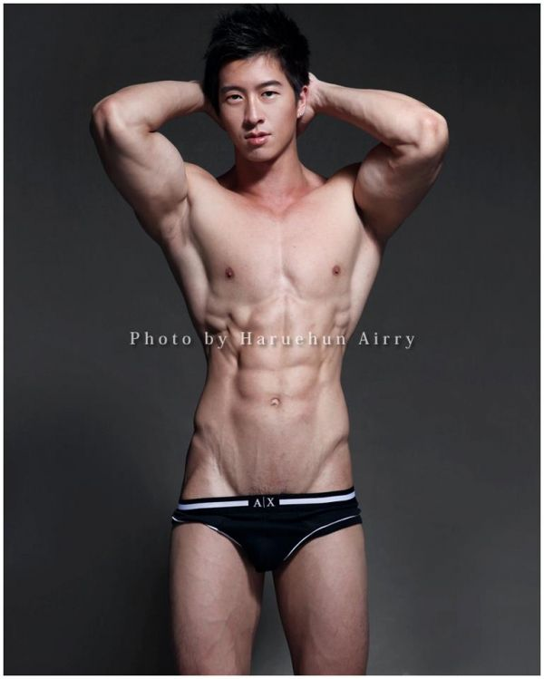 Useful message Asian male model dimples magnificent