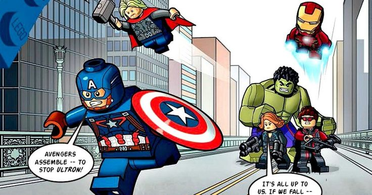 'Avengers: Age of Ultron' LEGO Comic Shows an Epic Battle -- Earth's Mightiest Heroes come together in LEGO form for a 'Avengers: Age of Ultron' comic preview, but it may not tie into the movie's plot. -- http://www.movieweb.com/avengers-2-age-ultron-lego-comic