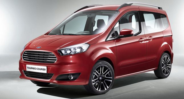 Ford Debuts Tourneo Courier Custom And Connect Vans In Geneva