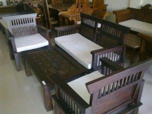 Kursi Tamu Kawung Minimalis Jepara | Alfah Furniture
