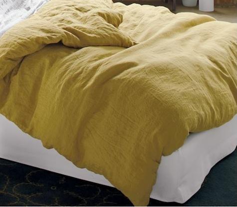 Djerba 100 Percent Linen Duvet Covers & Shams at Remodelista
