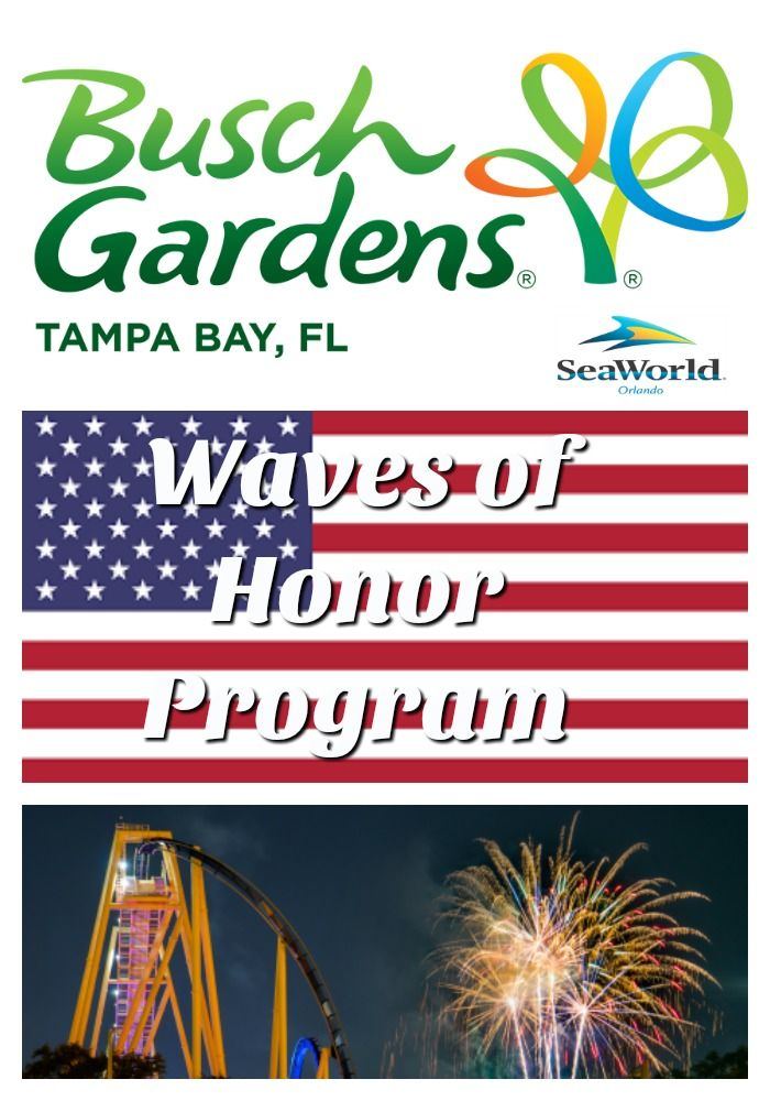 Waves Of Honor At Seaworld Parks Free Admission For Military
