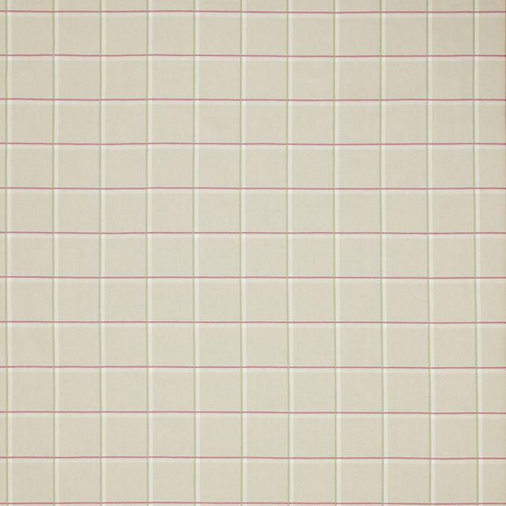 Buy John Lewis Meadow Check Fabric, Pink / Sage Online at johnlewis.com