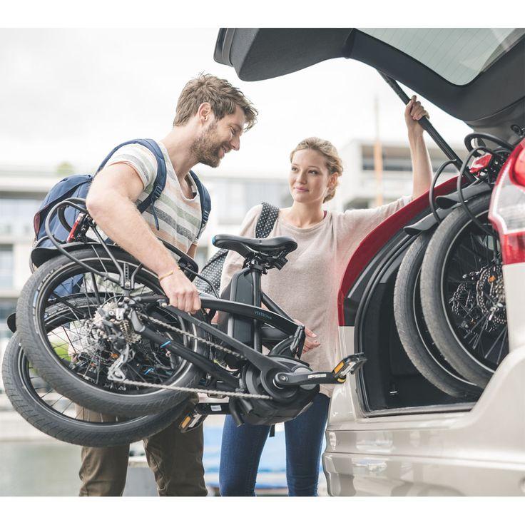 Vélo pliant Tern avec moteur pédalier Bosch. On l'attendait ! Tern l'a fait !