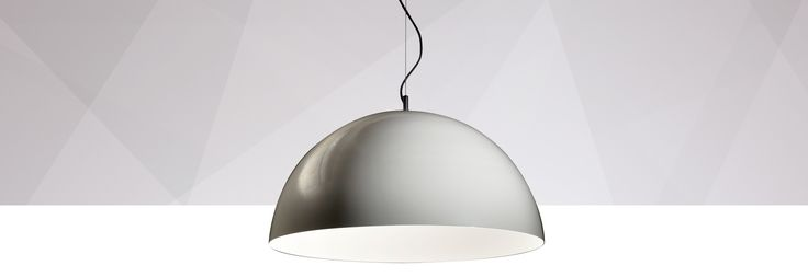 by Rakumba Designed by Rakumba, Dome is a perfect geometric hemisphere. Uncompromising simplicity.  This pendant comes in single or dual-tone aluminium, solid brushed brass or copper, with custom finishes and colours also available by request. Special finishes can be applied by hand to the interior and exterior.