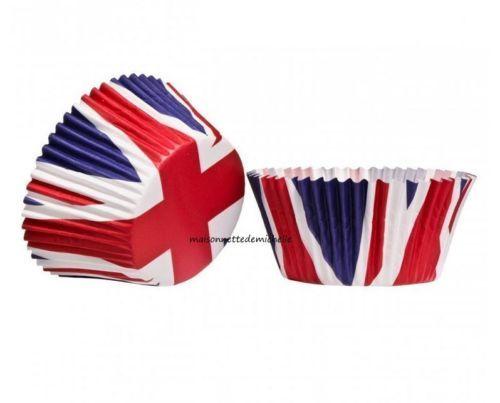 Eddingtons-boite-de-72-caisettes-de-muffin-en-papier-Drapeau-Grande-Bretagne