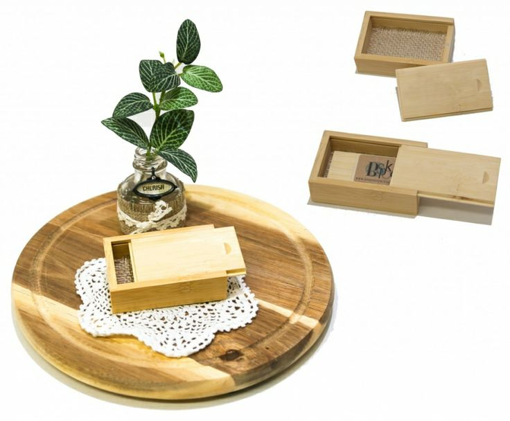 Bamboo USB boxes, work so well with our Bamboo USB's.  We will have them in light and dark Bamboo www.bespokepackaging.biz
