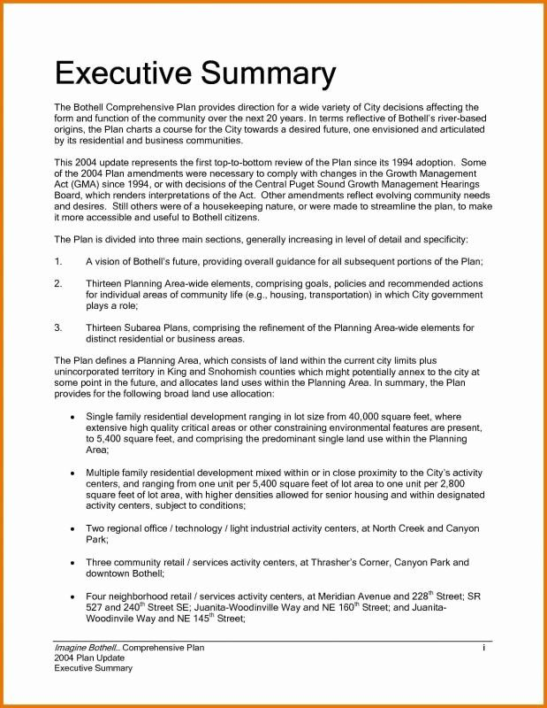 Executive Summary Sample For Proposal Awesome Executive Summary Sample Executive Summary Template Executive Summary Example Executive Summary