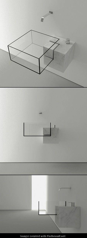 Best Victor Vasilev Images On Pinterest Architecture - Almost invisible minimalist kub bathroom sink by victor vasilev
