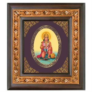 The God Hanuman wall hanging with a gold foil layering in it projecting a bright glow to it. These are big in shape, bright in color and dynamic in outlook perfect for gifting. LINK : http://diviniti.co.in/en/jai-hanuman-2