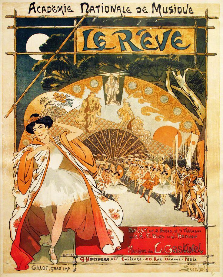 THEOPHILE STEINLEN. Le Reve. 1890.