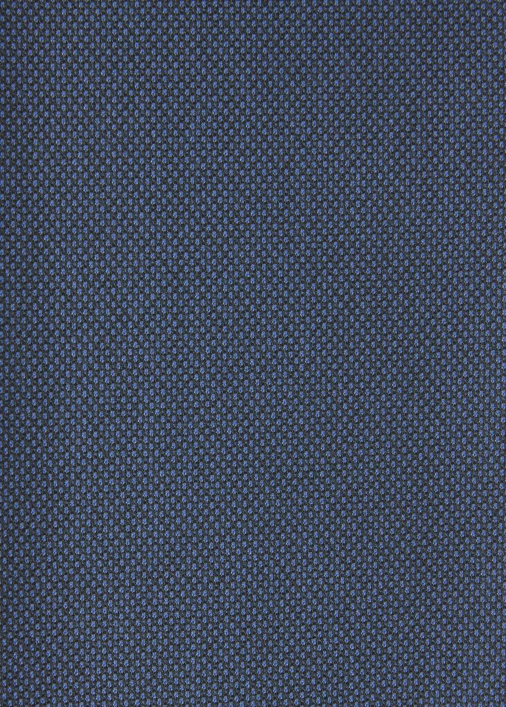 Pantalón traje slim-fit estructura - Trajes de Hombre | MANGO Man España