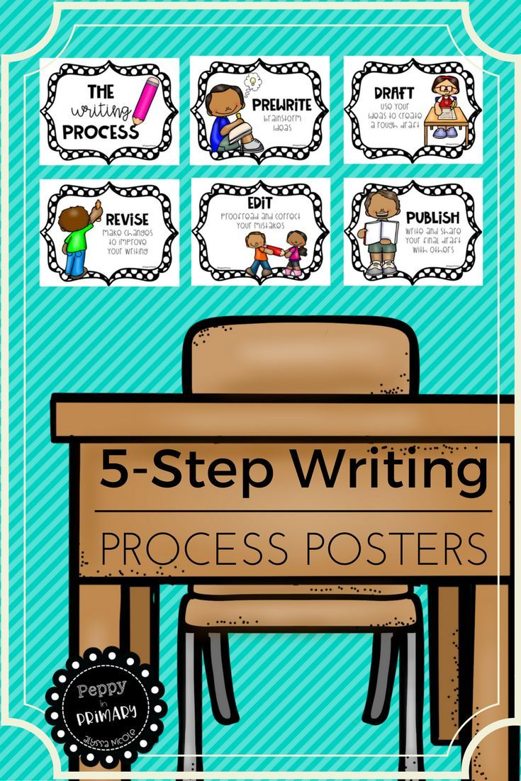 steps in the writing process elementary Process of writing, particularly expository writing, poses difficulty among  had  modeled each step in the writing process (ie, planning,  ___ elementary --_.