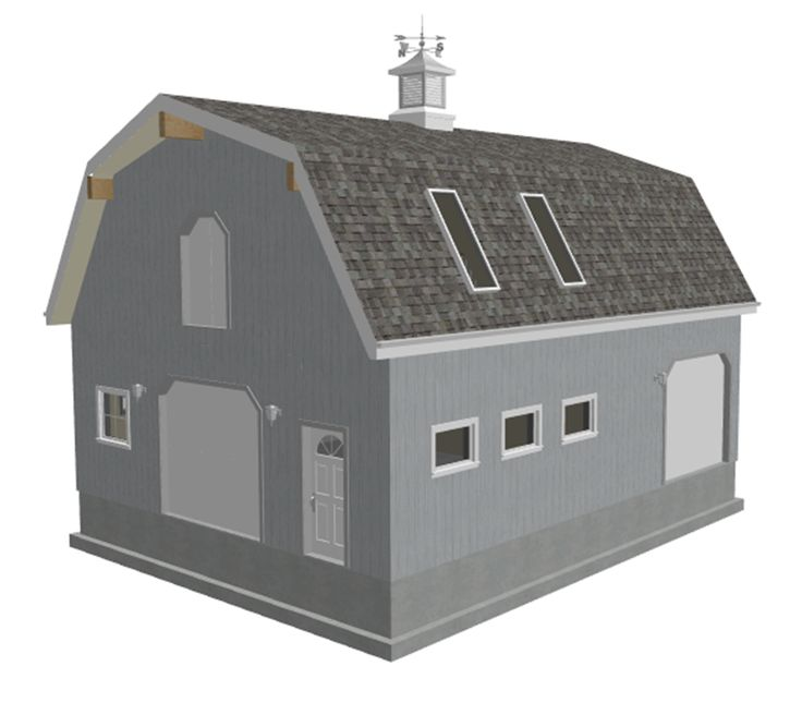 Barn Shop Designs: 17 Best Images About Gambrel Barn Plans On Pinterest