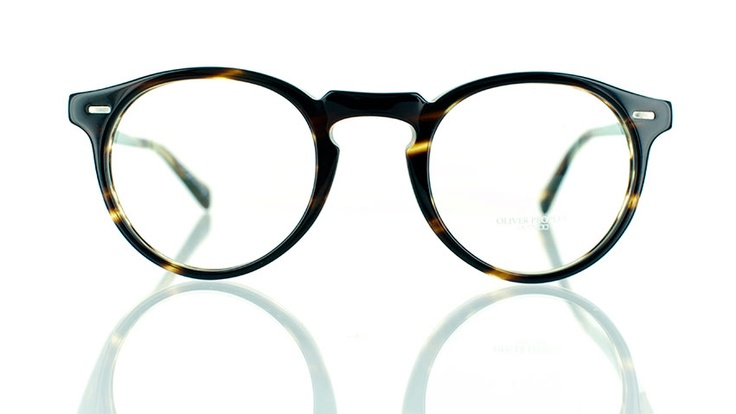 """Oliver Peoples Gregory Peck : Designer round glasses - find this Great """"Glassby"""" look at Goo Goo Eyes 