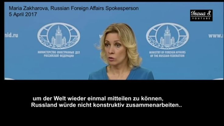 Giftgas Syrien☢// Brillant ➤ Russisches Außenministerium zerlegt Reporte...