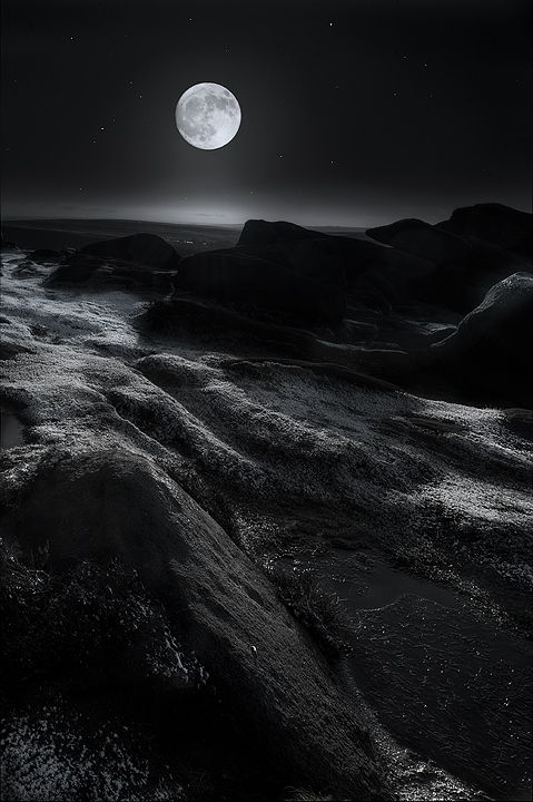 The treasures hidden in the heavens are so rich that the human mind shall never be lacking in fresh nourishment. ~ Johannes Kepler, (photo: Moonshine by Andy Astbury)