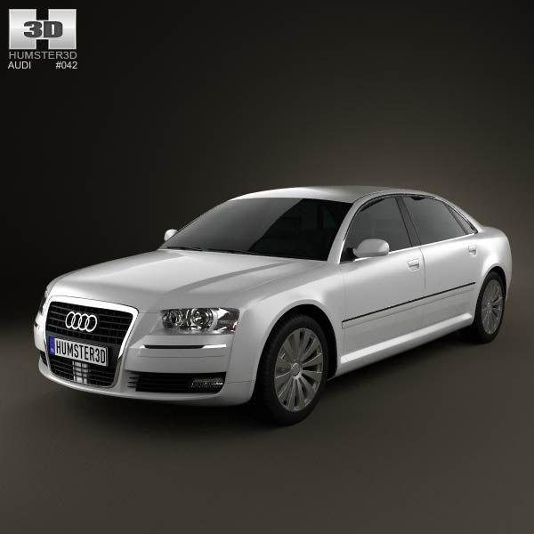 Cool Audi: 3D model of Audi A8 2009  Audi 3D Models Check more at http://24car.top/2017/2017/05/04/audi-3d-model-of-audi-a8-2009-audi-3d-models/