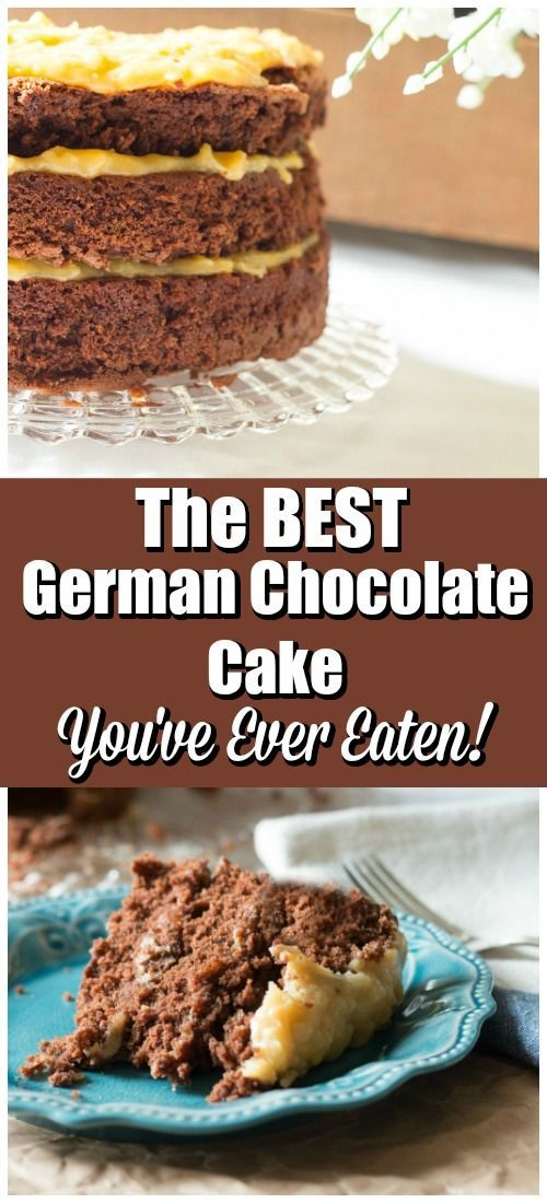 The Best German Chocolate Cake You've Ever Eaten - Made from Scratch!