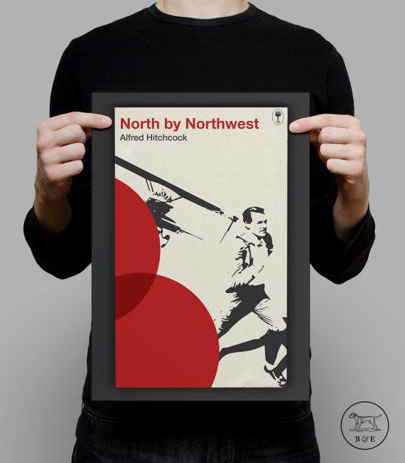 Penguin Books Classics Movie Poster North by by PaperbackCinema