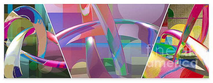 There are five layers in this horizontal triptych, all experimental, hoping something special will come out at the end. I love to be surprised. I am rewarded more often than not, so I persevere. This is what i call fun and fun is never overrated!
