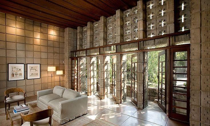 those doors.. Alice Millard House by Frank Lloyd Wright