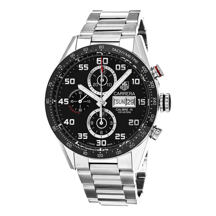 Tag Heuer Men's CV2A1R.BA0799 'Carrera' Dial Chronograph Swiss Automatic Watch
