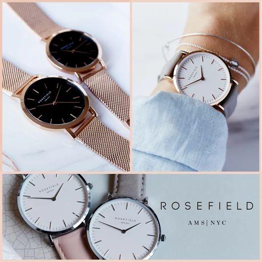 De horloges van Rosefield zijn geïnspireerd op Amsterdam en New York. Net zo stijlvol, net zo veelzijdig. Rosefield maakt horloges waarin een klassieke en moderne stijl samenkomen, waarin vorm en functie samenkomen en waarin Amsterdam en New York samenkomen. Rosefield combineert ingetogen en minimalistisch Dutch design met de fashionable aesthetics die zo typerend zijn voor New York.  #rosefield #défashionjuwelier