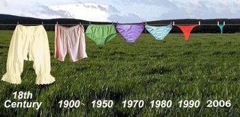 evolution des moeurs