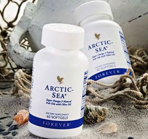 New and improved Forever Arctic Sea™ Super Omega-3 Natural Fish & Calamari Oils with Olive Oil provides a perfect balance of Omega-3 fatty acids in a proprietary blend of natural fish oil and Calamari oil to better support your cardiovascular system, brain, and eyes. This unique blend is exclusive to Forever Living and provides not only 33% more DHA per day, but creates the perfect balance of DHA and EPA for optimal health and wellness.