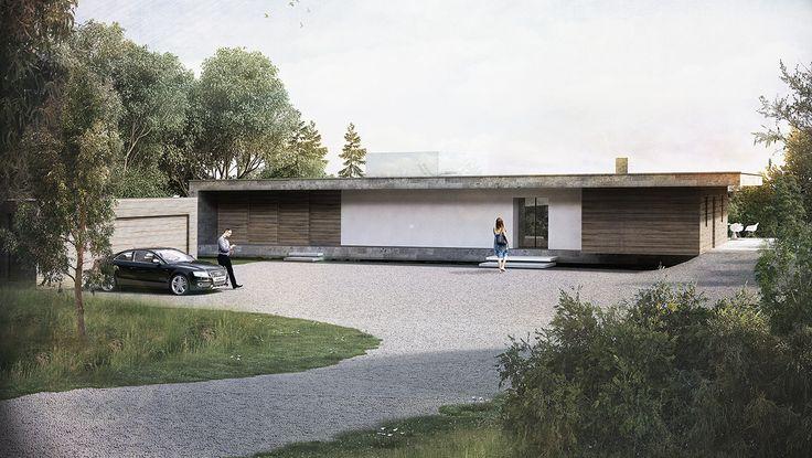 Scheme:Private House.  Commencement: TBC.  Completion:TBC.  Visuals:AR Design Studio  Description:  Influenced by its surrounding landscape this