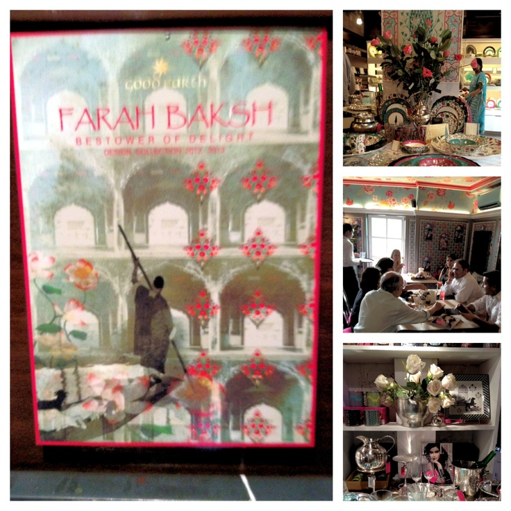 Pictures of the beautiful decor at our #FarahBaksh @ELLEINDIA party at Khan Market yesterday #Kashmir    See more: http://instagram.com/GOODEARTHINDIA